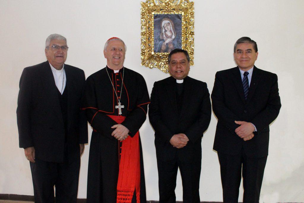 Grata visita: Cardenal Giuseppe Versaldi estuvo en nuestra Facultad 7 Grata visita: Cardenal Giuseppe Versaldi estuvo en nuestra Facultad