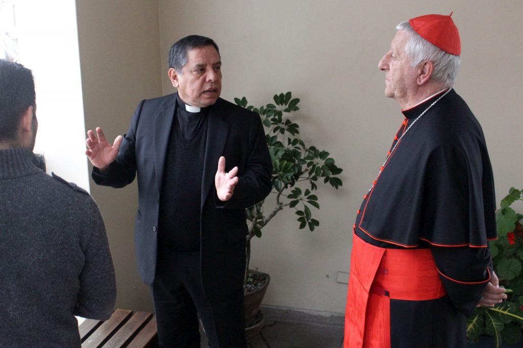 Grata visita: Cardenal Giuseppe Versaldi estuvo en nuestra Facultad 5 Grata visita: Cardenal Giuseppe Versaldi estuvo en nuestra Facultad