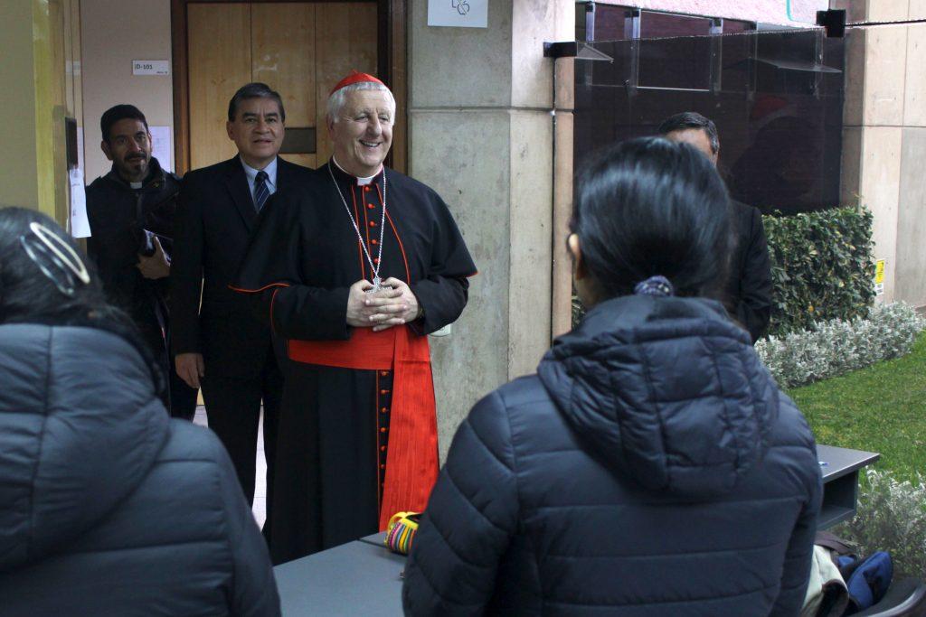 Grata visita: Cardenal Giuseppe Versaldi estuvo en nuestra Facultad 6 Grata visita: Cardenal Giuseppe Versaldi estuvo en nuestra Facultad