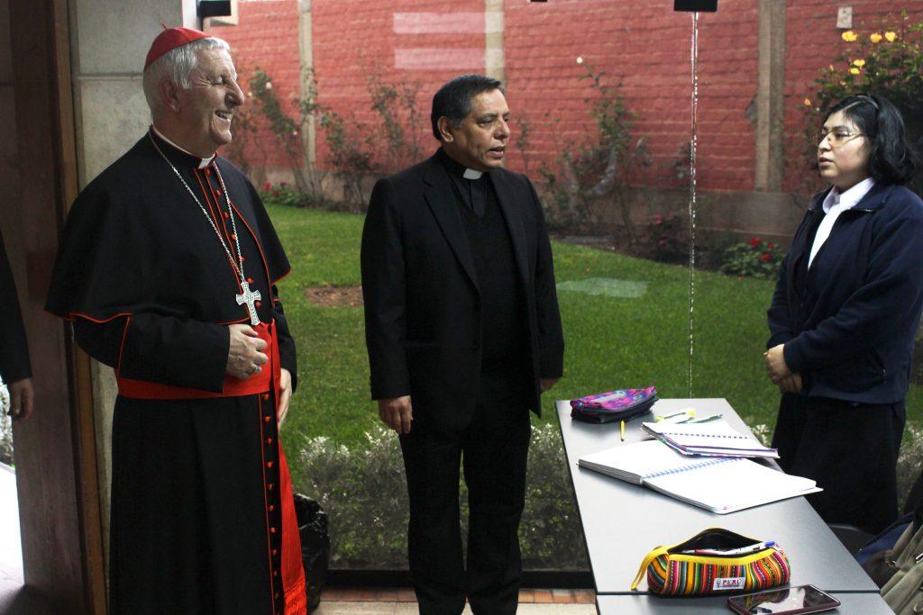 Grata visita: Cardenal Giuseppe Versaldi estuvo en nuestra Facultad 2 Grata visita: Cardenal Giuseppe Versaldi estuvo en nuestra Facultad